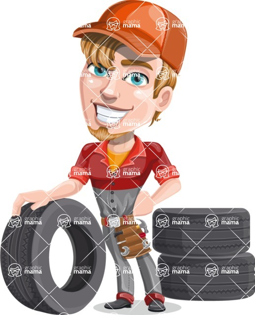 Kyle the Problem Solver Mechanic - Tires