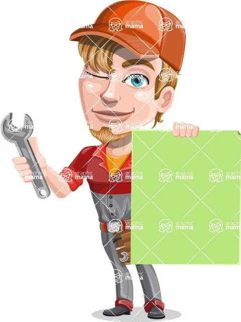 Kyle the Problem Solver Mechanic - Sign 6
