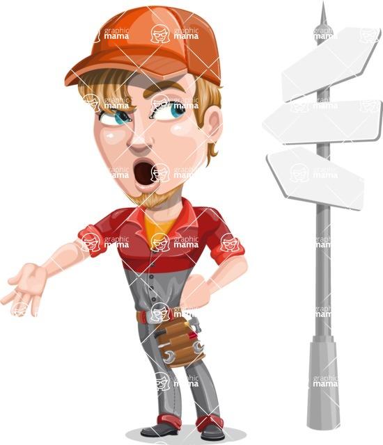 Kyle the Problem Solver Mechanic - Crossroad