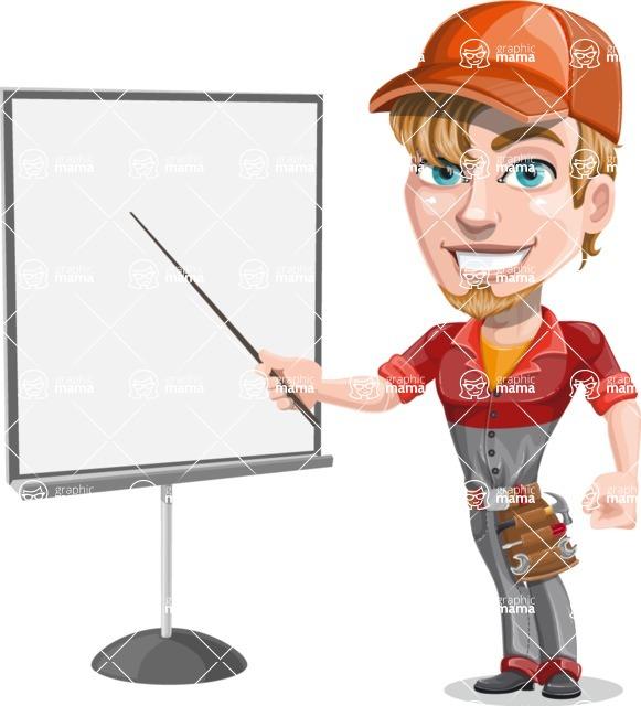 Kyle the Problem Solver Mechanic - Presentation