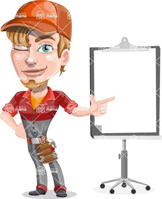 Kyle the Problem Solver Mechanic - Presentation 1