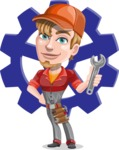 Kyle the Problem Solver Mechanic - Shape 11