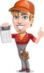 Kyle the Problem Solver Mechanic - Calculator