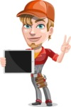 Kyle the Problem Solver Mechanic - iPad 1