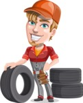 Kyle the Problem Solver Mechanic - Tires