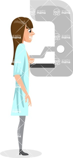 Good Health - Doctors, Medical pack of vector graphics - editable characters, items, icons, illustrations, backgrounds - Character 26