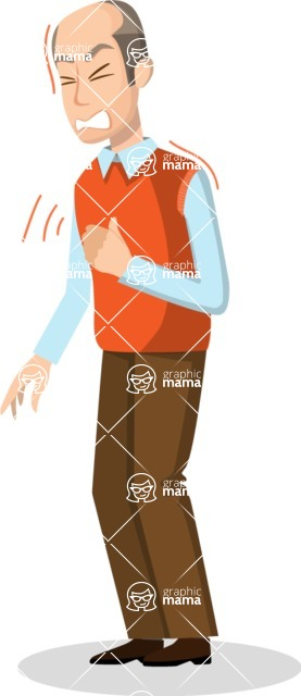 Good Health - Doctors, Medical pack of vector graphics - editable characters, items, icons, illustrations, backgrounds - Character 31