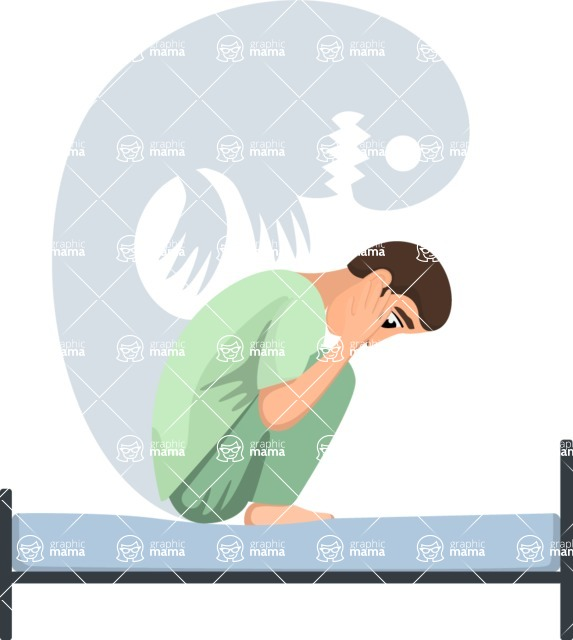 Good Health - Doctors, Medical pack of vector graphics - editable characters, items, icons, illustrations, backgrounds - Character 56