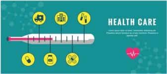 Medical Vectors - Mega bundle - Horizontal Medical Banner Design