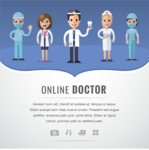 Medical Vectors - Mega bundle - Medical Banner Template with Doctors