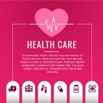 Medical Vector Collection - Clean Health Care Banner Template