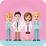Medical Vector Collection - Medical Team Vector Illustration Graphic