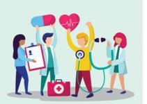 Medical Vectors - Mega bundle - Modern Healthcare Vector Illustration Concept