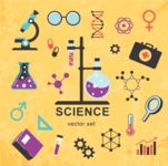 Medical Vector Collection - Vector Flat Biology and Science Icon Set