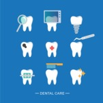 Medical Vectors - Mega bundle - Vector Dental Icon Set