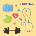 Medical Vectors - Mega bundle - Vector Health Icon Set