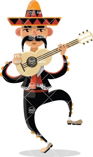 Mexico Vectors - Mega Bundle - Mariachi Musician