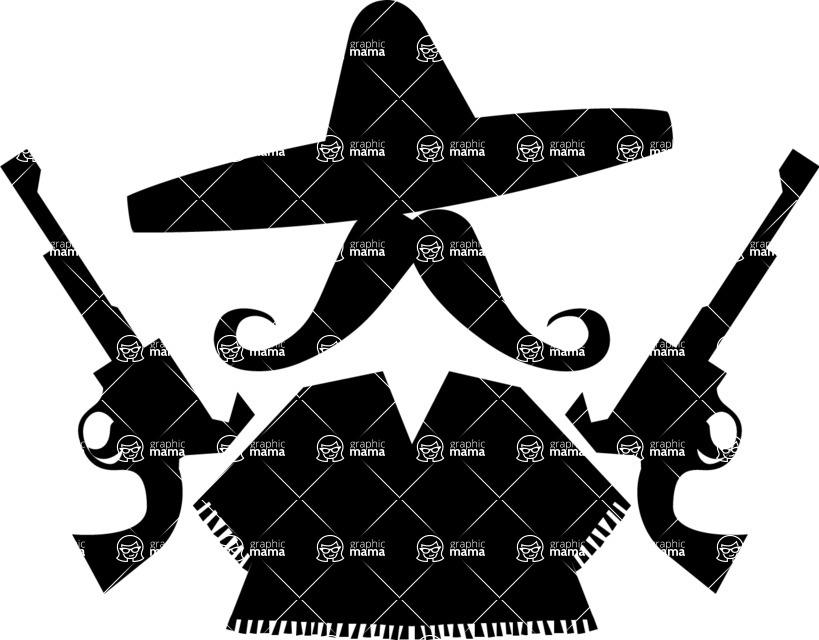 Mexico Vectors - Mega Bundle - Mexican Bandit