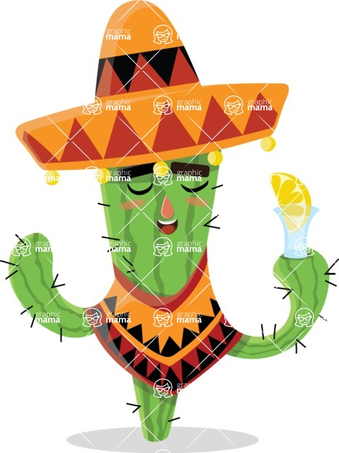 Mexico Vectors - Mega Bundle - Mexican Cactus