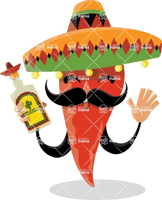 Mexico Vectors - Mega Bundle - Mexican Chili Pepper