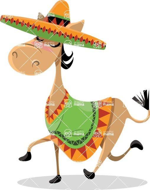 Mexico Vectors - Mega Bundle - Mexican Donkey