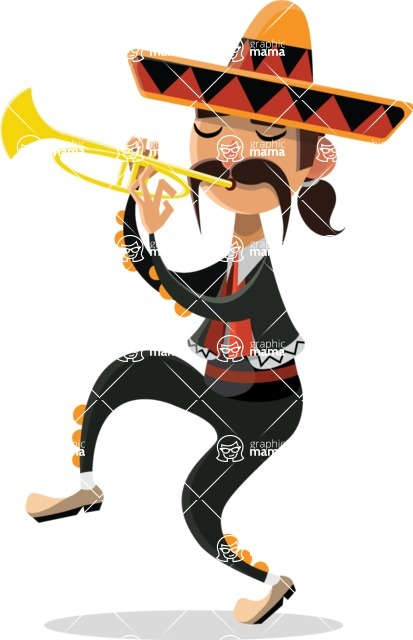 Mexico Vectors - Mega Bundle - Mexican Musician