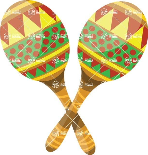 Mexico Vectors - Mega Bundle - Maracas Instruments