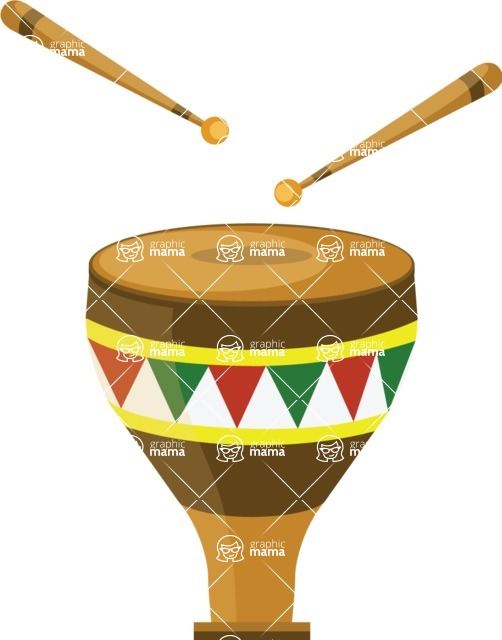 Mexico Vectors - Mega Bundle - Mexican Drum