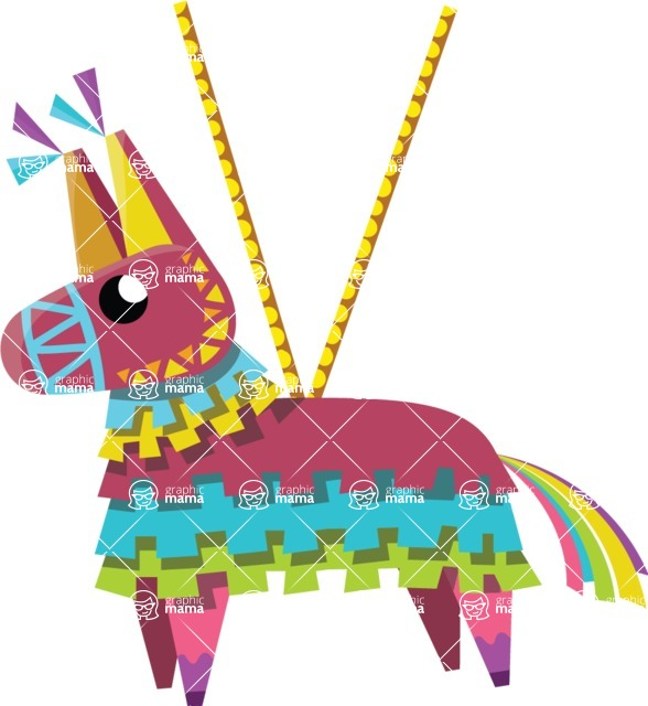 Mexico Vectors - Mega Bundle - Mexican Pinata