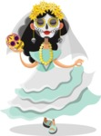 Mexico Vectors - Mega Bundle - Mexico's Day of the Dead Girl