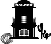 Mexico Vectors - Mega Bundle - Saloon Bar Silhouette