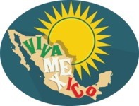 Viva Mexico Sticker