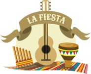 La Fiesta Mexican Sticker