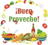 Mexico: Hola, Amigo - Mexican Meals Sticker