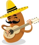 Mexico Vectors - Mega Bundle - Mexican Potato Musician
