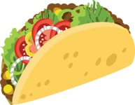 Mexico Vectors - Mega Bundle - Mexican Taco 2