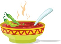 Mexico Vectors - Mega Bundle - Mexican Chili Soup