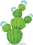 Mexico Vectors - Mega Bundle - Prickly Pear Cactus
