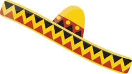 Mexico Vectors - Mega Bundle - Mexican Sombrero Hat
