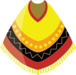 Mexico Vectors - Mega Bundle - Mexican Poncho 2