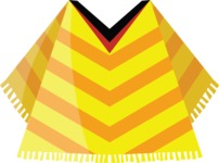 Mexico Vectors - Mega Bundle - Mexican Poncho 3