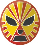 Mexico Vectors - Mega Bundle - Mexican Wrestler Mask 2