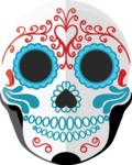 Mexico Vectors - Mega Bundle - Day of the Dead Mask Male