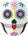 Mexico Vectors - Mega Bundle - Day of the Dead Mask Female