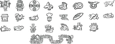 Mexico Vectors - Mega Bundle - Mexican Symbols