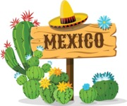 Mexico Vectors - Mega Bundle - Mexico Wood Sign