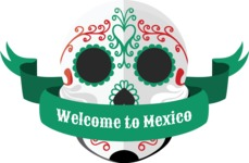 Mexico Vectors - Mega Bundle - Mexico Day of the Dead Skull