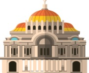 Mexico Vectors - Mega Bundle - Palace of Fine Arts Mexico