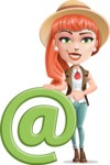 Adeline Bangs the Redhead - E-mail