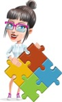 Margot the Hipster Pro - Puzzle